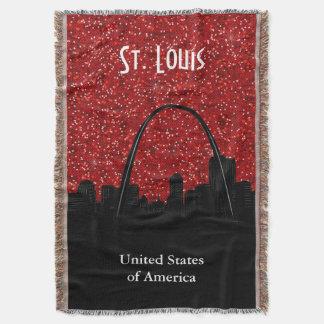 Lençol Marco da skyline de St Louis