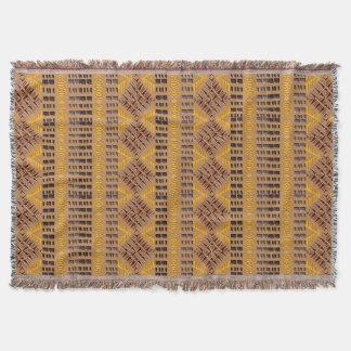 Lençol teste padrão geométrico tribal africano étnico