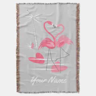 Lençol Vertical da cobertura do lance do nome do amor do