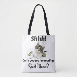 Lendo o bolsa direito do Meow