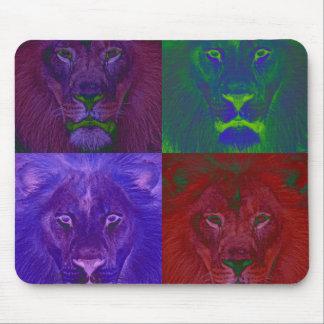 Leões abstratos Mousepad