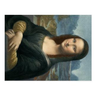 Leonarde da Vinci Mona Lisa Cartoes Postais