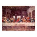 Leonardo da Vinci - a última ceia Cartão Postal