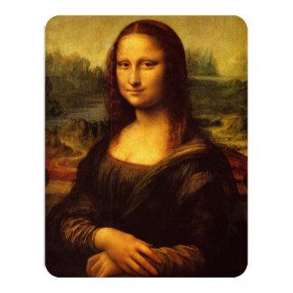 Leonardo da Vinci Mona Lisa Convite