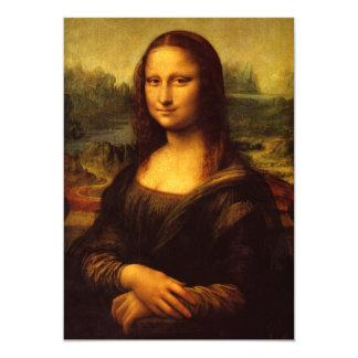Leonardo da Vinci Mona Lisa Convites Personalizados