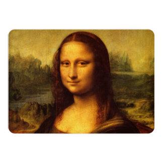 Leonardo da Vinci Mona Lisa Convites Personalizado