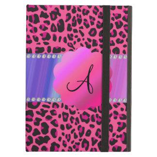 Leopardo cor-de-rosa do monograma
