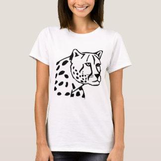 Leopardo de neve camiseta