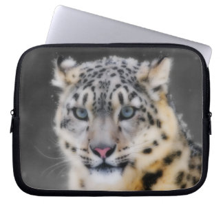 Leopardo de neve capa para notebook