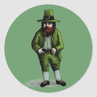 Leprechaun do dia de St Patrick Adesivo