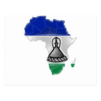 Lesotho Cartão Postal