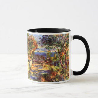 L'Estaque por Pierre Renoir, impressionismo do Caneca