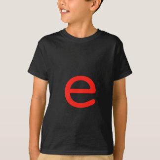Letra E T-shirt