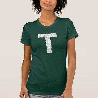Letra T do montanhês Camisetas