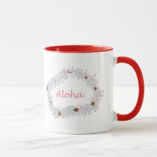 Leus de Aloha Caneca
