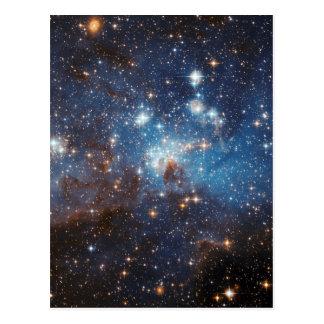 LH 95 na grande nuvem de Magellanic Cartão Postal
