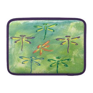 Libélulas coloridas do ar de Macbook Bolsas Para MacBook Air