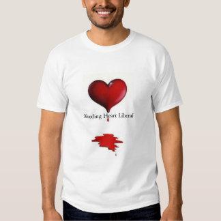 Liberal do coração de sangramento t-shirt