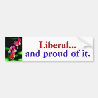 """""""Liberal… e orgulhoso dele. """"autocolante no vidro  Adesivo Para Carro"""