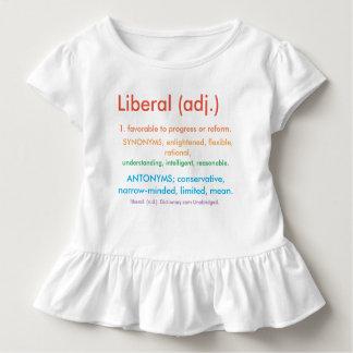 Liberal orgulhoso camiseta