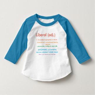 Liberal orgulhoso t-shirt