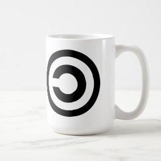 Liberdade de Copyleft Caneca De Café
