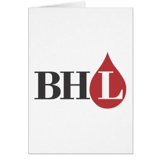 Libertários do coração de sangramento! cartão
