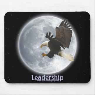 Liderança Mousepad inspirador da águia americana