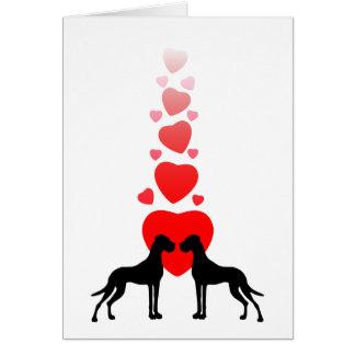 Liebesdoggen cartão