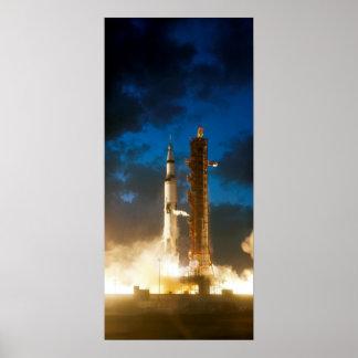 Liftoff da NASA Apollo 4 Posters