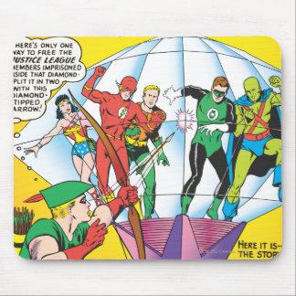 Liga de justiça da edição #4 de América - possa Mouse Pad