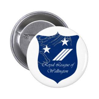 Liga real da brasão do crachá de Wallington