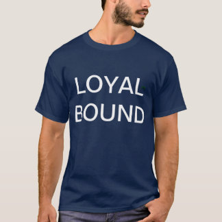 limite por t-shirt da lealdade