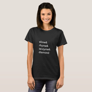 limo & rima & isozyme & camisa do ampersand do