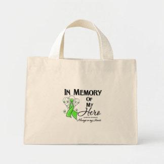 Linfoma na memória de meu herói bolsas para compras