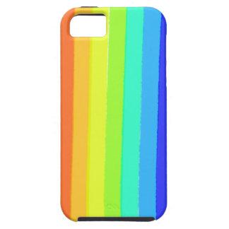 linha caso do arco-íris do teste padrão iphone5 capas para iPhone 5