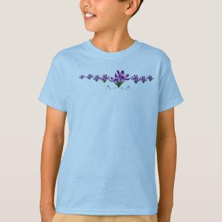 Linha t-shirt da planta do açafrão