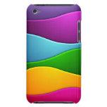 Linhas coloridas capas iPod Case-Mate