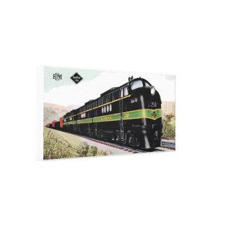 Linhas de estrada de ferro FT da leitura 250