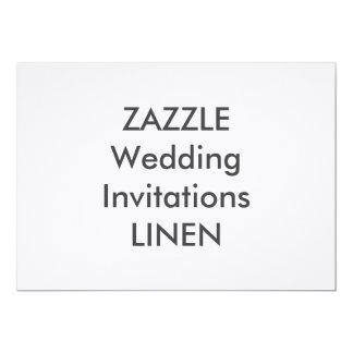 """LINHO 7"""" x 5"""" convites do casamento"""