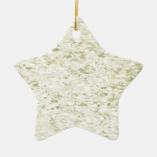 Linóleo retro da cozinha do meio século dos anos ornamento de cerâmica estrela
