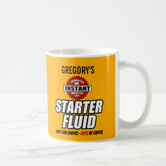 Líquido personalizado engraçado do acionador de caneca de café