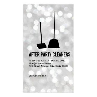 Líquidos de limpeza do partido/Bokeh Cartão De Visita