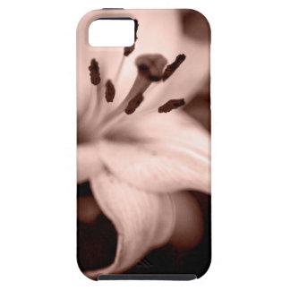 Lírio desvanecido capa tough para iPhone 5