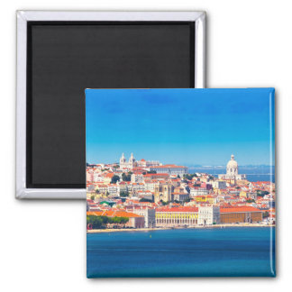 Lisboa 002A Ímã Quadrado