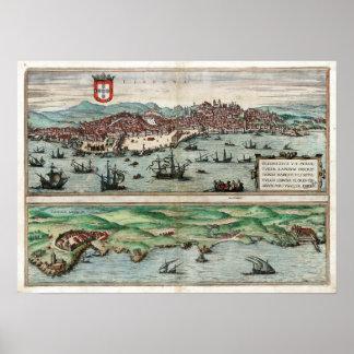 Lisboa 1572 pôsteres