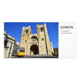 Lisboa Cartão Com Foto