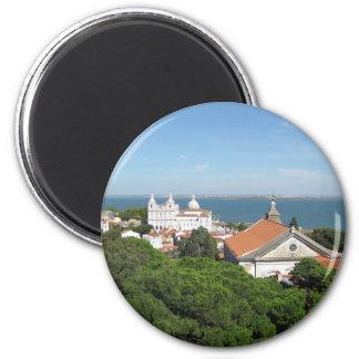 Lisboa Ímã Redondo 5.08cm