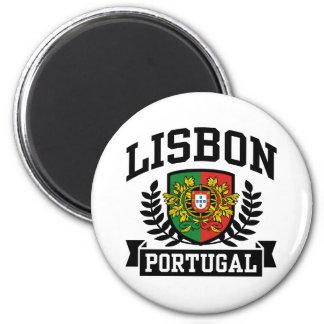 Lisboa Portugal Ímã Redondo 5.08cm