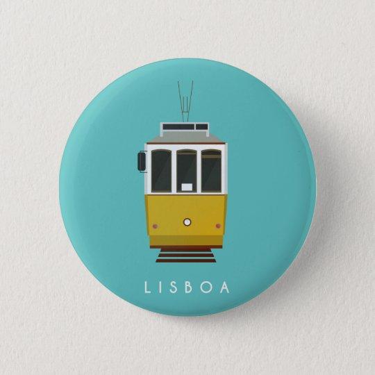 Lisbon Pin Bóton Redondo 5.08cm